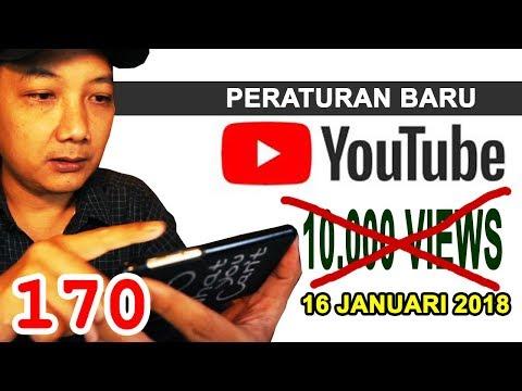 Peraturan Baru Monetasi YouTube - 16 Januari 2018
