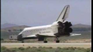 STS-49 - Space Shuttle Endeavour first Launch + first Landing