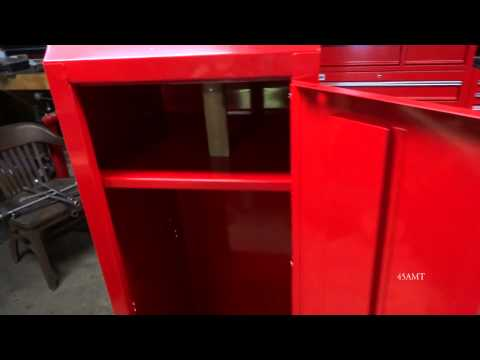 Harbor Freight Item # 68991 U.S General Toolbox End Cabinet