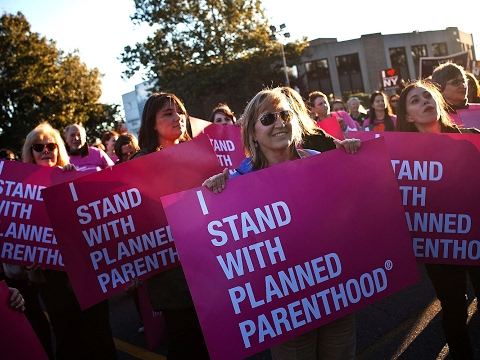 Anti-Planned Parenthood Protest Fails In Hilarious Way