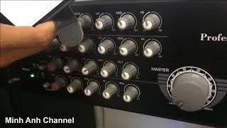 Phát nhạc từ điện thoại qua âm ly Dalton DA-7000XB bằng Bluetooth