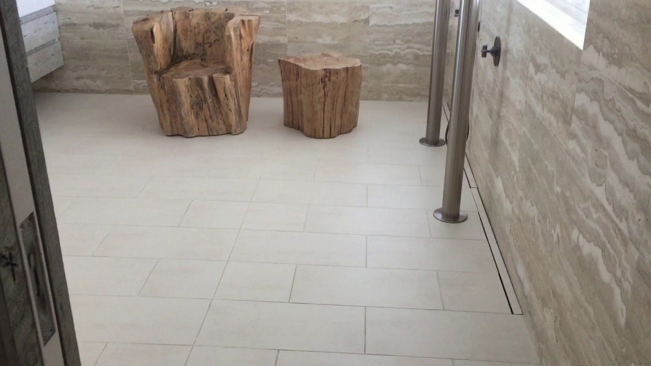 How To Make Porcelain Tiles Less Slippery Youtube