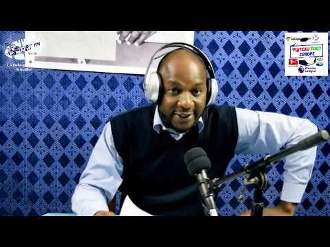 SPORTFM TV - PLATEAU FOOT EUROPE DU 10 DECEMBRE 2018 PRESENTE PAR ANGELO FOLLYKOE