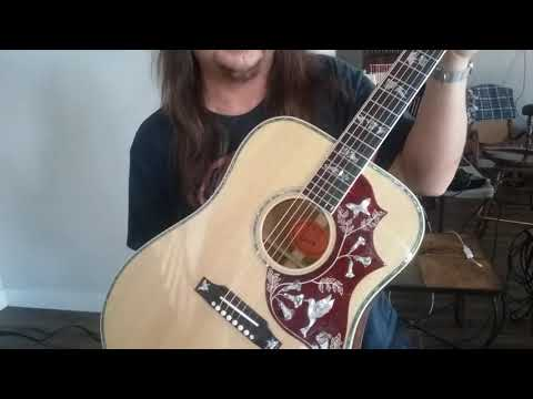 Jeff Carlson's New Acoustic Guitar with Lillian cover-Nobody Knows