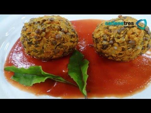 receta de como preparar albndigas receta comida mexicana vegetariana youtube