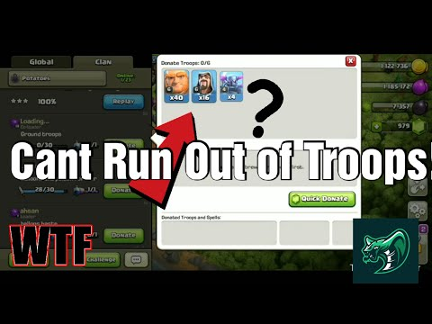 Clash Of Clans Insane Unlimited Troops Glitch 2019?*PROOF*