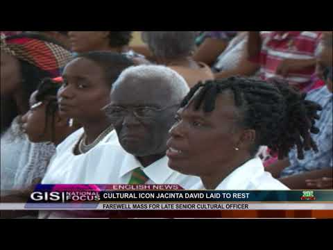 CULTURAL ICON JACINTA DAVID LAID TO REST