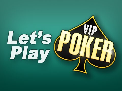 Let's Play: VIP Poker - For IOS (iPad, IPad 2, IPad Touch, IPhone)
