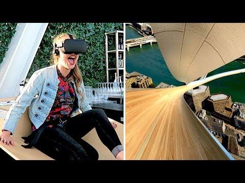 Virtual Reality experience at The Shard! - Vlog