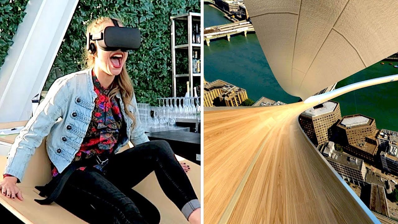 Virtual Reality experience at The Shard! Vlog YouTube