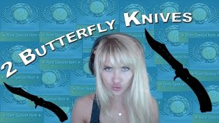 [CsGo] 2 Butterfly Knives in one Hour | Case Unboxing