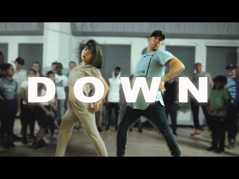 DOWN  Fifth Harmony ft Gucci Mane Dance  @MattSteffanina ft Bailey Sok