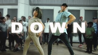 'DOWN' - Fifth Harmony ft Gucci Mane Dance | @MattSteffanina ft Bailey Sok