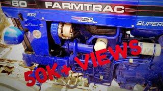 ਦੇਖੋ ਜ਼ੋਰ 60 epi t20 ਦਾ NEW FARMTRAC 60 EPI T2O V/S K. S. ROTAWATOR 8 FOOT