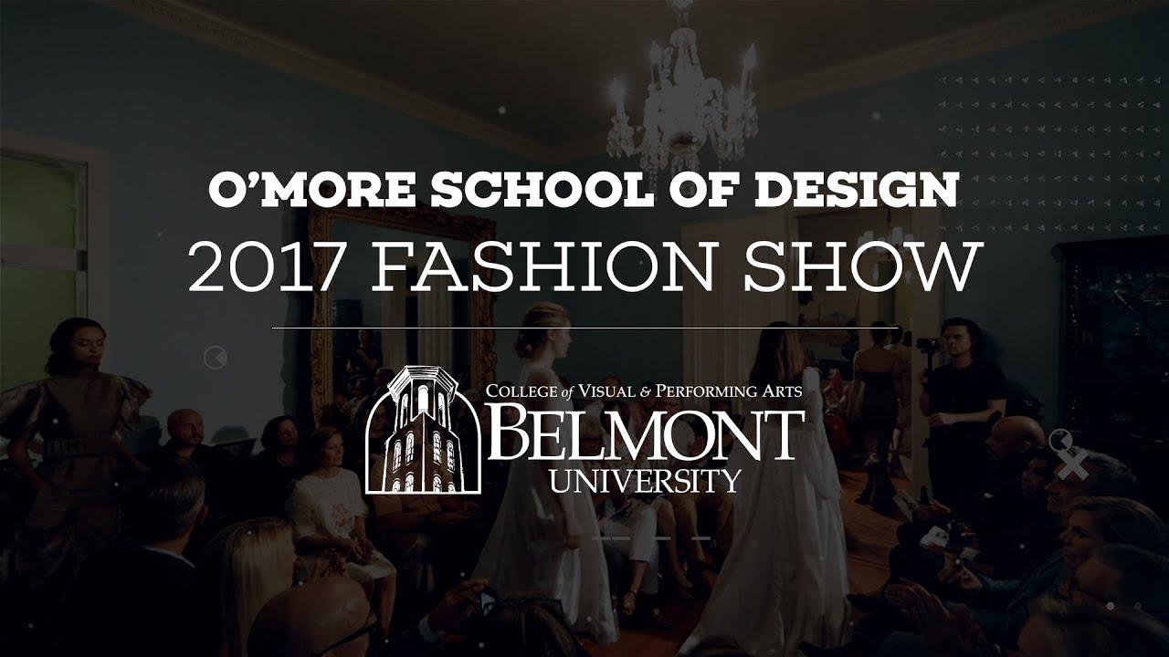 Fashion Show Archive O More College Of Architecture Art Design Belmont University Nashville Tn