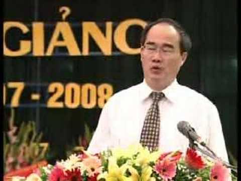 Bộ trưởng Thiện Nhân dự khai giảng THPT Nguyễn Tất Thành