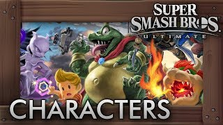 Super Smash Bros. Ultimate - All 73 Characters So Far (Gameplay Showcase)