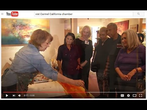 Carmel Art Gallery features Titus Contemporary Gallery in Chamber video - Carmel-by-the-Sea