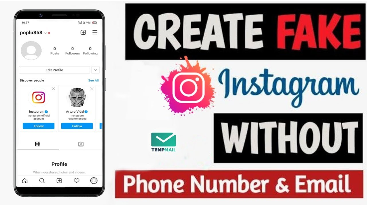 Create Instagram Without Phone   Contact Information Finder