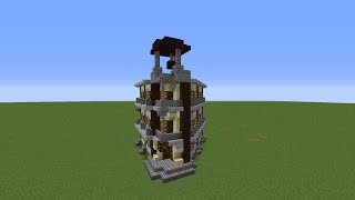 minecraft town hall easy build cool tutorial
