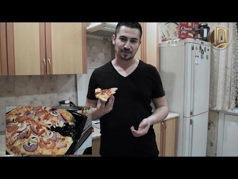 Вопрос: Как приготовить пиццу с нуля?