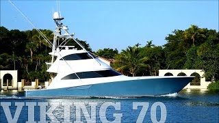 Viking 70 Enclosed Bridge