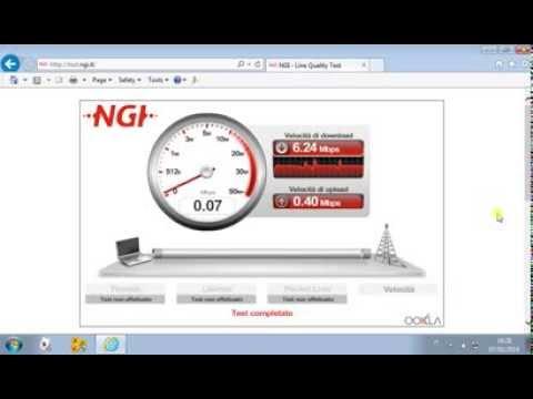 Speedtest Adsl Alice 10 Mega