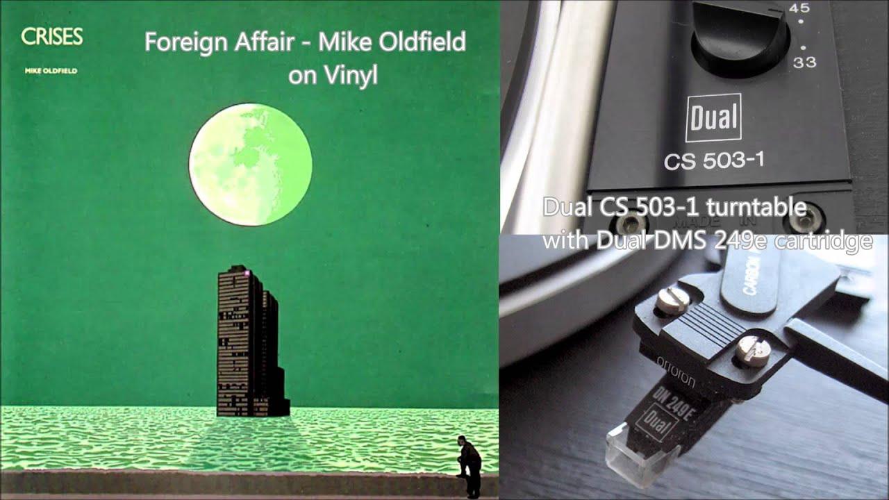 Foreign Affair - Mike Oldfield (Vinyl) - Dual DMS 249e ...