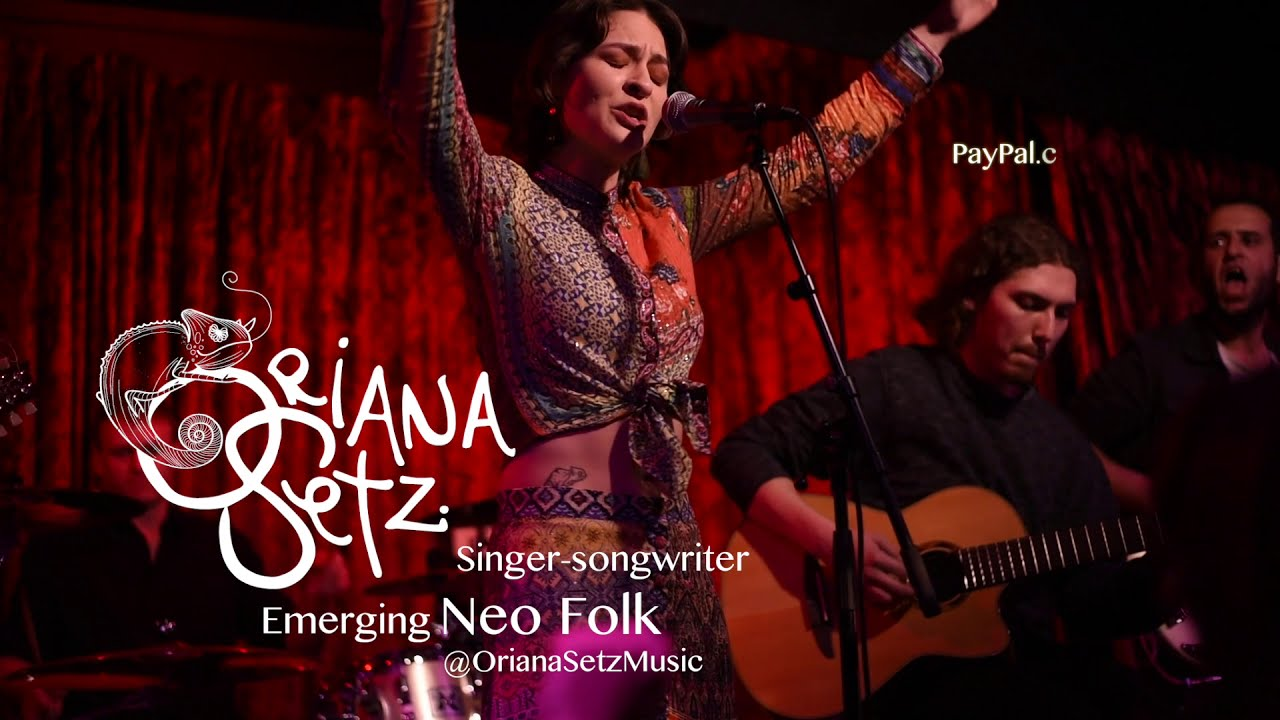 Fundraising Campaign for Emerging Neo Folk Singer-Songwriter & Activist Oriana Setz