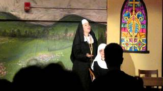 """Climb Every Mountain"" -Ashley nicole cuciti as Mother Abbess 2012"