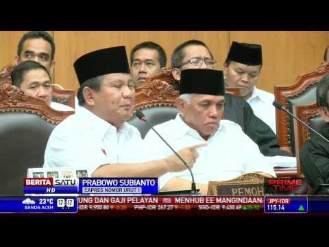Pidato Prabowo Saat Sidang Di MK