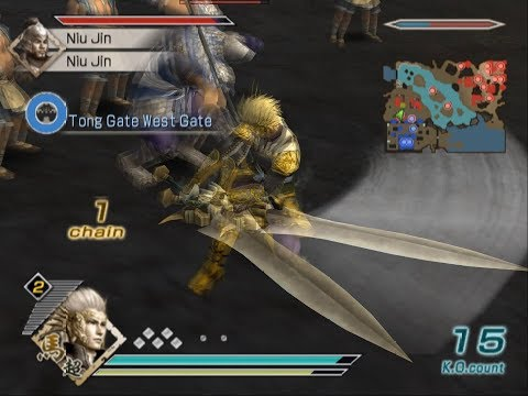 Dynasty Warriors 6 Special - Ma Chao Musou Mode - Chaos Difficulty - Battle of Tong Gate