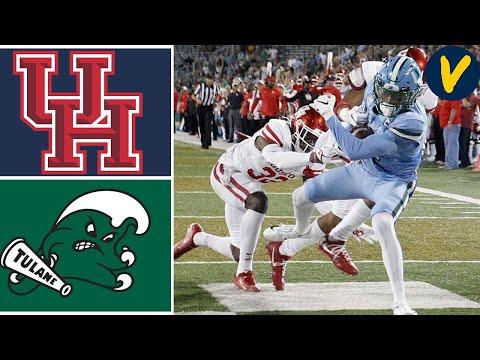 Week 4 2019 Houston Vs Tulane College Football Full Game Highlights 9/19/2019