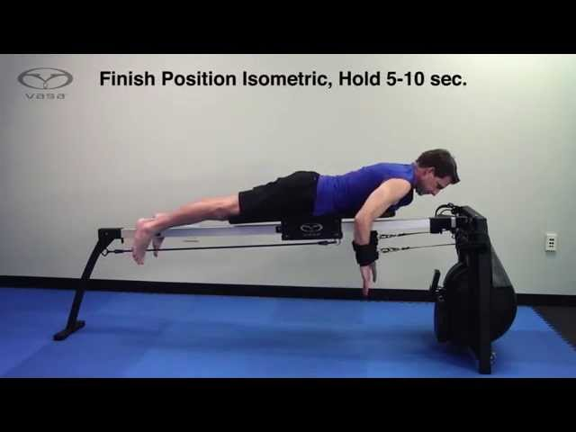 Swim Strength & Technique Drill: Double-Arm Isometric Hold