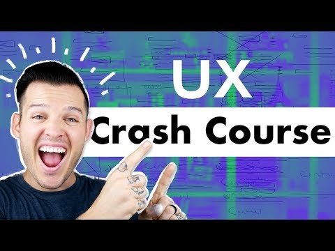 UX Crash Course | Getting Started in User Experience Design