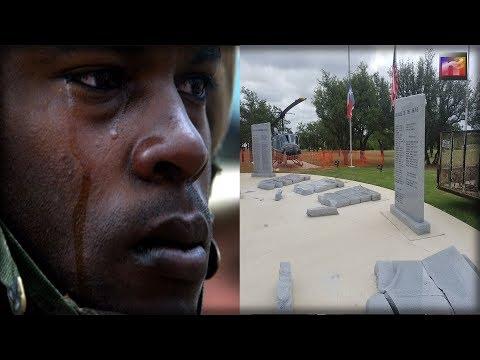 HORROR Strikes in Texas as vandals DESECRATE Memorial to our Fallen Heroes