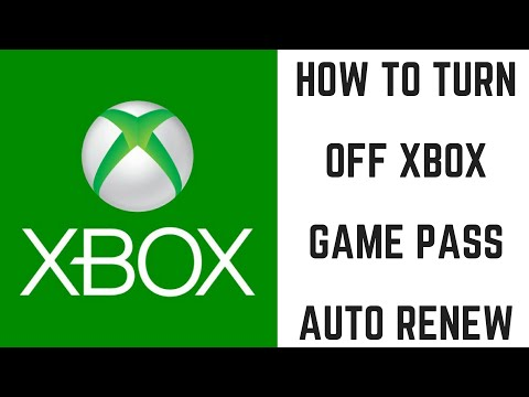 How to Turn Off Xbox Game Pass Auto Renew - YouTube
