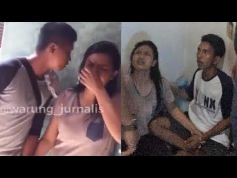 Video Detik-detik Penangkapan Pasutri Pelaku Pengeroyokan 2 Anggota TNI, Suci Menangis Dibawa Polisi