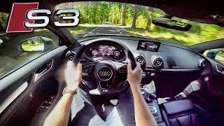 Audi S3 2017 Sedan 310hp POV Test Drive by AutoTopNL