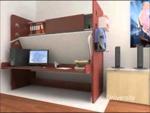 Cama escondida ideas y muebles bogota d c colombia youtube for Casa quinta muebles bogota