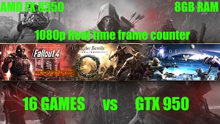 Download Video 16 Games Tested on GTX 950 | FX 8350 | 8GB RAM | 1080p (Part 2) MP3 3GP MP4
