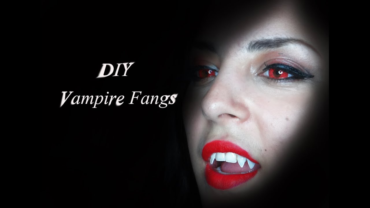 Diy vampire fangs really cheap way youtube solutioingenieria Image collections