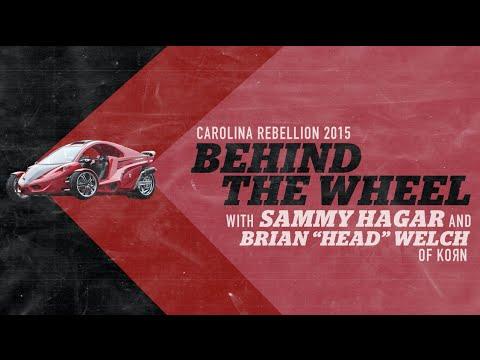 Behind The Wheel with SAMMY HAGAR and KORN
