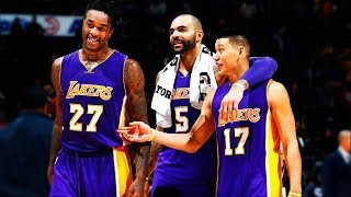 Jeremy Lin林書豪-11/18/2014 Lakers vs Hawks 湖人vs老鷹