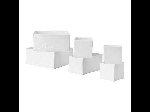 ikea skubb box set review youtube. Black Bedroom Furniture Sets. Home Design Ideas