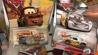 Disney Cars Diecast Hunt #18 • Mega Haul At 9 Stores, Wave 4 Mini Racers & More! 🛒 (Part 1- Stores)