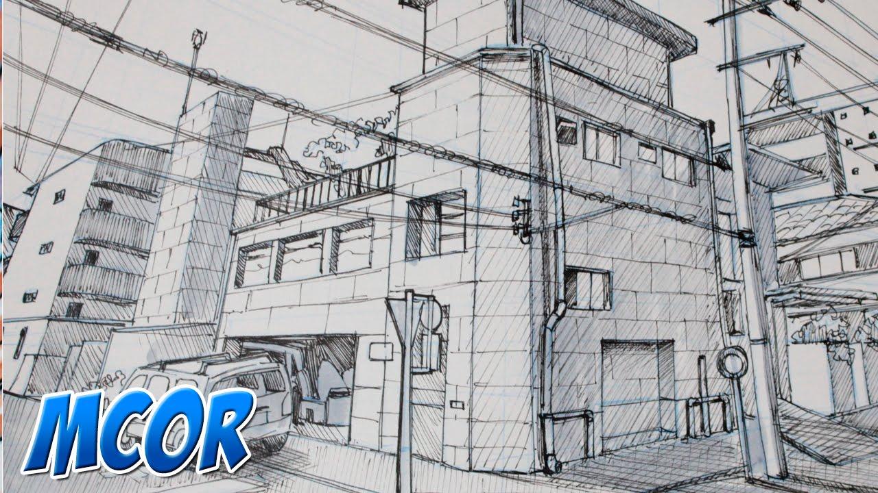 Worksheet. Como Dibujar un Escenario Manga  2  YouTube
