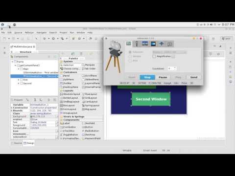 94 JAVA Swing GUI Multi windows