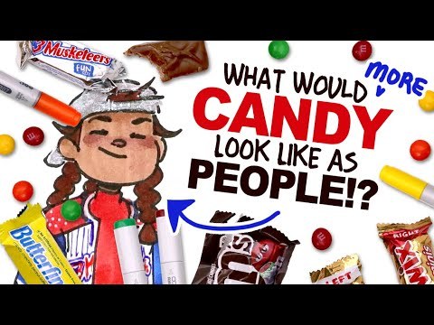 Download Designing CHARACTERS based on TASTY HALLOWEEN CANDY! 🎃🎃 (2021)