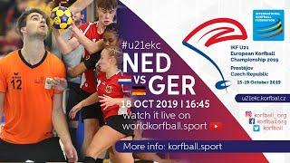 IKF U21 EKC 2019 NED - GER